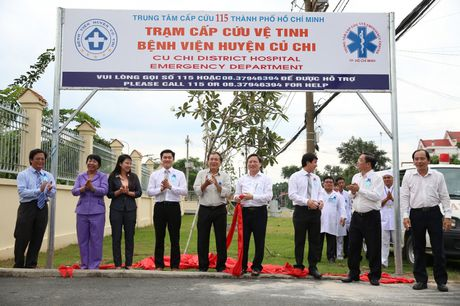 TP.HCM: Them mot tram cap cuu ve tinh 115 tai huyen Cu Chi - Anh 2