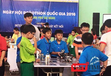 Gan 240 'ky su robot nhi' tham du Robothon 2016 tai Da Nang - Anh 1