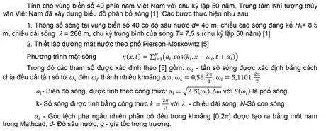 Xac dinh tai trong song ngau nhien len phan tu day neo cong trinh bien noi - Anh 8