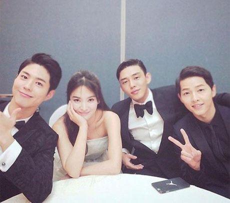 Song Hye Kyo dang hen ho voi Song Joong Ki hay Yoo Ah In? - Anh 17