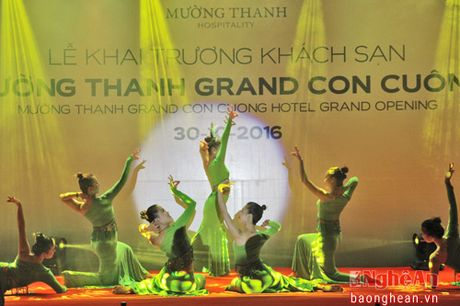 Muong Thanh khai truong khach san 4 sao o pho nui - Anh 1