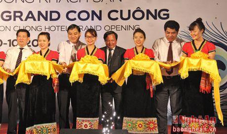 Muong Thanh khai truong khach san 4 sao o pho nui - Anh 6