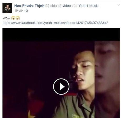 Nam sinh canh sat cover ca khuc 'Nhu phut ban dau' khien Noo Phuoc Thinh phai 'share ngay lap tuc' - Anh 1