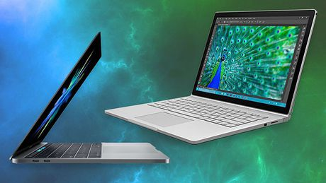MacBook Pro va Surface Book, nen chon san pham nao? - Anh 1