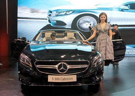 Mercedes-Benz S500 mui tran dau tien tai Viet Nam - Anh 1