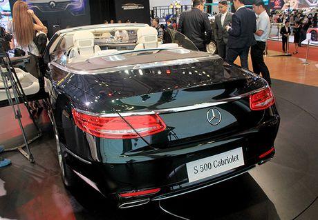 Mercedes-Benz S500 mui tran dau tien tai Viet Nam - Anh 2