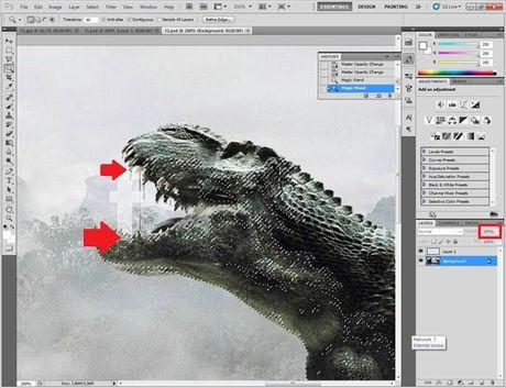 Huong dan cat ghep anh trong Photoshop don gian - Anh 7