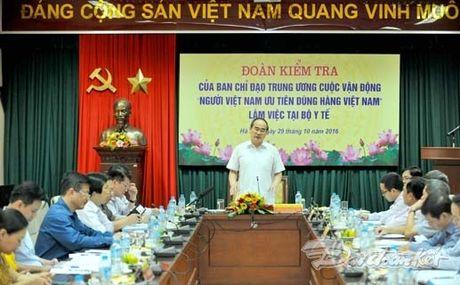 BAN TIN MAT TRAN: 'Nguoi Viet dung thuoc Viet' tuy thuoc vao thay thuoc - Anh 1