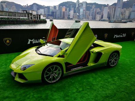 Lamborghini ra mat Aventador ban dac biet - Anh 1