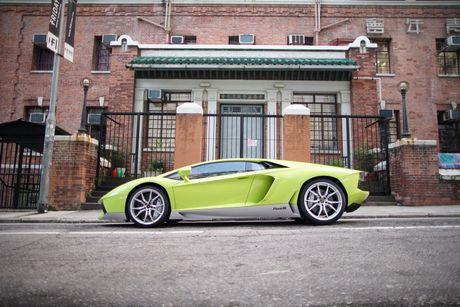 Lamborghini ra mat Aventador ban dac biet - Anh 2