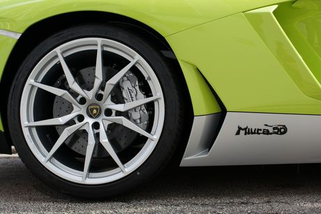Lamborghini ra mat Aventador ban dac biet - Anh 5