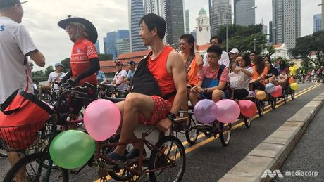 Ngay chu nhat khong oto o Singapore - Anh 1