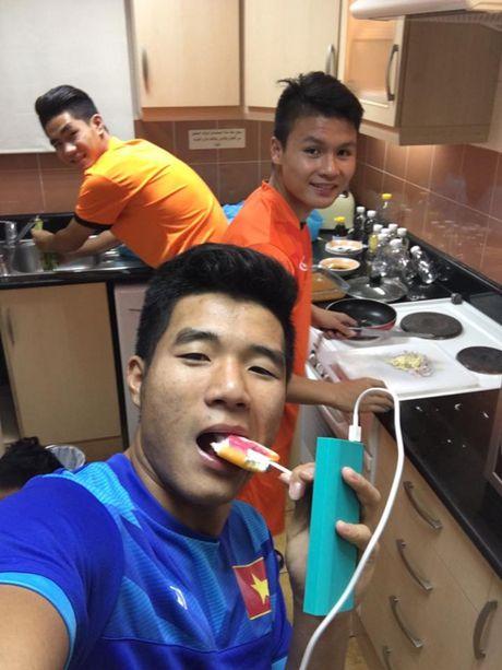 'Nhoi long' truoc bua com cua U19 Viet Nam - Anh 2