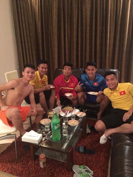 'Nhoi long' truoc bua com cua U19 Viet Nam - Anh 3