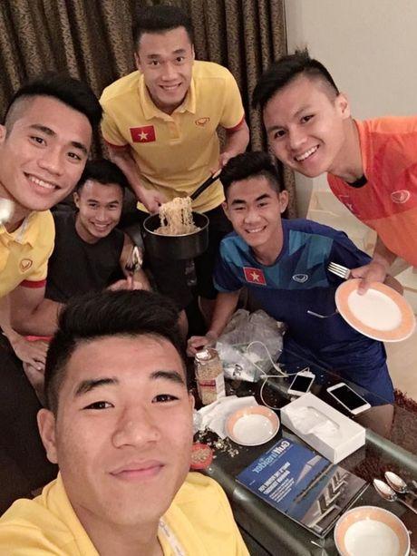 'Nhoi long' truoc bua com cua U19 Viet Nam - Anh 4