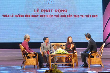 Viet Nam lan dau tien to chuc Tuan le huong ung Ngay Tiet kiem the gioi - Anh 2