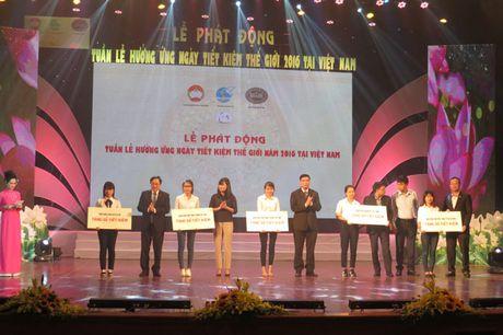 Viet Nam lan dau tien to chuc Tuan le huong ung Ngay Tiet kiem the gioi - Anh 3