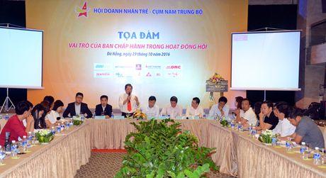 Toa dam Hoi Doanh nhan tre: Nguoi dung dau Hoi phai can bang tai, tam, tam, tri va thoi gian - Anh 3
