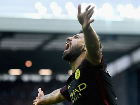 DIEM NHAN West Brom 0-4 Man City: Aguero hoi sinh, Guendogan ngay cang hay - Anh 1
