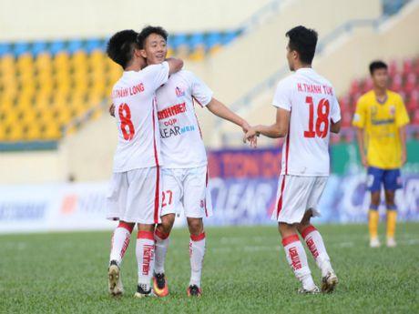 U21 HAGL 'guc nga' tren cham luan luu - Anh 1
