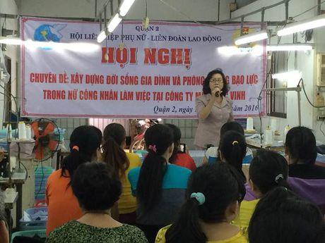 Hoi LHPN Q.2: Huong dan nu cong nhan ky nang to chuc cuoc song gia dinh - Anh 1