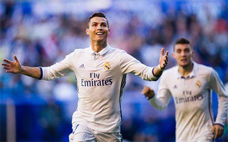 Clip Alaves 1-4 Real: Ronaldo trut gian - Anh 1