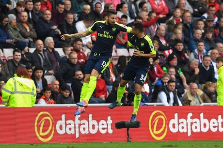 Toan canh chien thang huy diet cua Arsenal truoc Sunderland - Anh 12