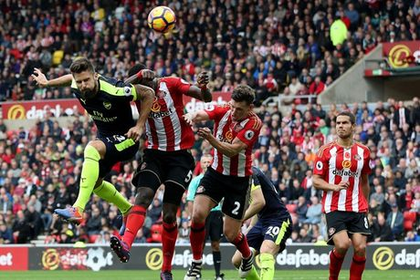 Toan canh chien thang huy diet cua Arsenal truoc Sunderland - Anh 9