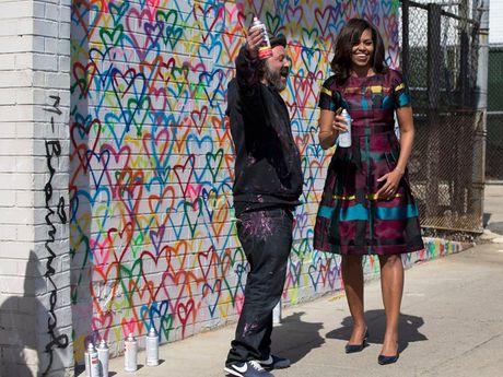 40 bo trang phuc dep nhat cua De nhat Phu nhan Michelle Obama (Phan 2) - Anh 13