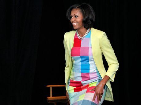 40 bo trang phuc dep nhat cua De nhat Phu nhan Michelle Obama (Phan 2) - Anh 1