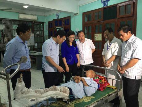 Hien truong vu no binh gas o Thai Binh khien nhieu nguoi thuong vong - Anh 2