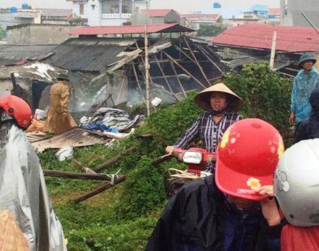 Hien truong vu no binh gas o Thai Binh khien nhieu nguoi thuong vong - Anh 5