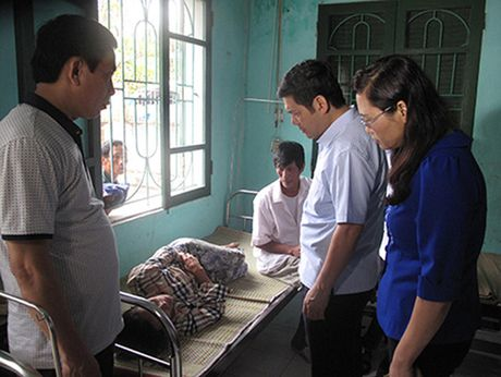 Hien truong vu no binh gas o Thai Binh khien nhieu nguoi thuong vong - Anh 6