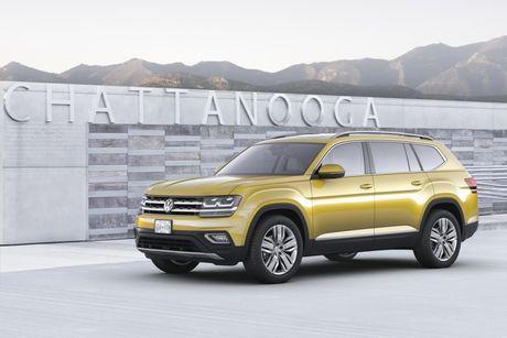 VW Atlas 2018 - 'At chu bai' cua VW tai My - Anh 4