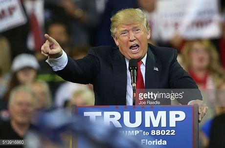 Nhin lai nhung buc hinh ve ung vien Donald Trump - Anh 1