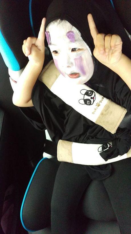 Be gai hoa trang quy Vo dien hot nhat mang Viet dip Halloween - Anh 8