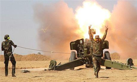 Luc luong Iraq giai phong 100 lang mac gan Mosul - Anh 1