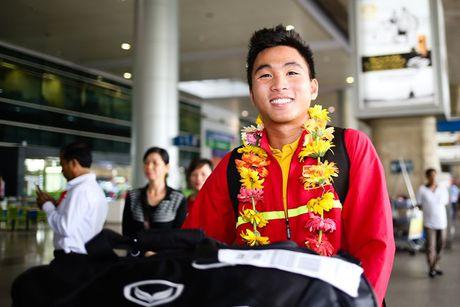 U19 Viet Nam duoc NHM don tiep nhu nguoi hung - Anh 7