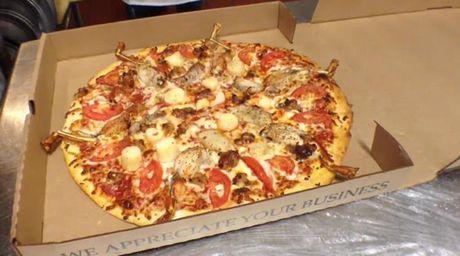 Banh pizza doc di co mot khong hai tren the gioi - Anh 3