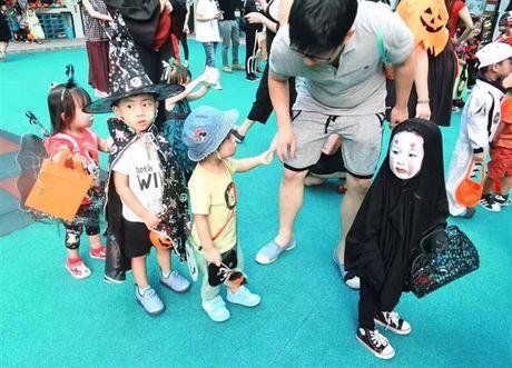 Co nhoc xu Dai hoa trang ma Vo Dien hot nhat Halloween - Anh 1