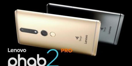 Lenovo Phab 2 Pro – smartphone mo phong khong gian 3D moi - Anh 1