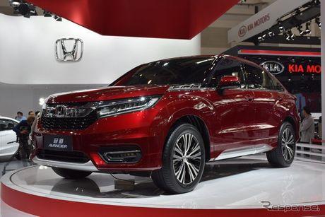 Honda Avancier - doi thu cua Toyota Highlander chinh thuc ra mat tai Trung Quoc - Anh 1
