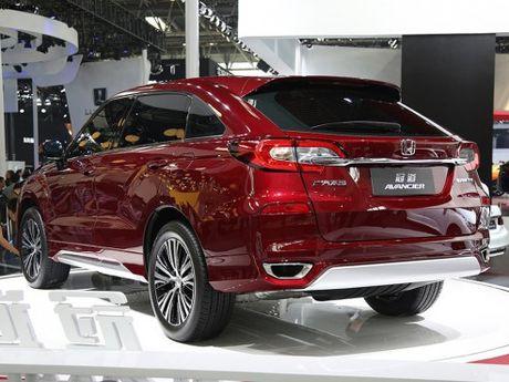Honda Avancier - doi thu cua Toyota Highlander chinh thuc ra mat tai Trung Quoc - Anh 2