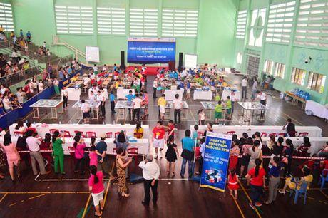 Hon 200 thi sinh tham gia ngay hoi Robothon 2016 tai Da Nang - Anh 1