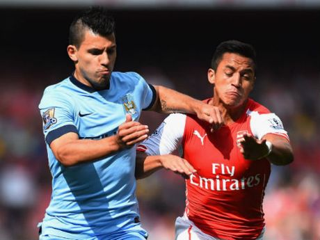Arsenal chi vo dich Premier League neu co… Aguero - Anh 1