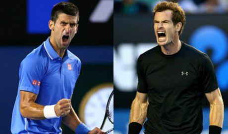 "BXH tennis 31/10: Murray ""dot duoc"" phia sau Djokovic - Anh 1"