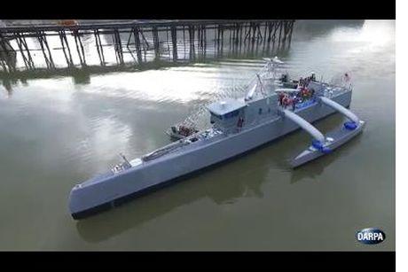 Tau san ngam khong nguoi lai Sea Hunter 'khung' nhat the gioi cua My - Anh 2