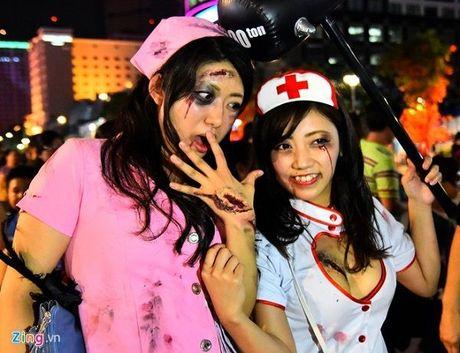 Thoi trang Halloween: Khong nhat thiet phai kinh di - Anh 7