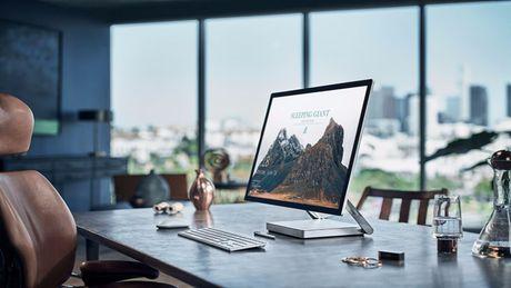 May tinh Microsoft Surface Studio moi len ke da 'chay hang' - Anh 1