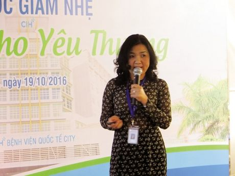 Giam nhe dau don cho benh nhan ung thu - Anh 1